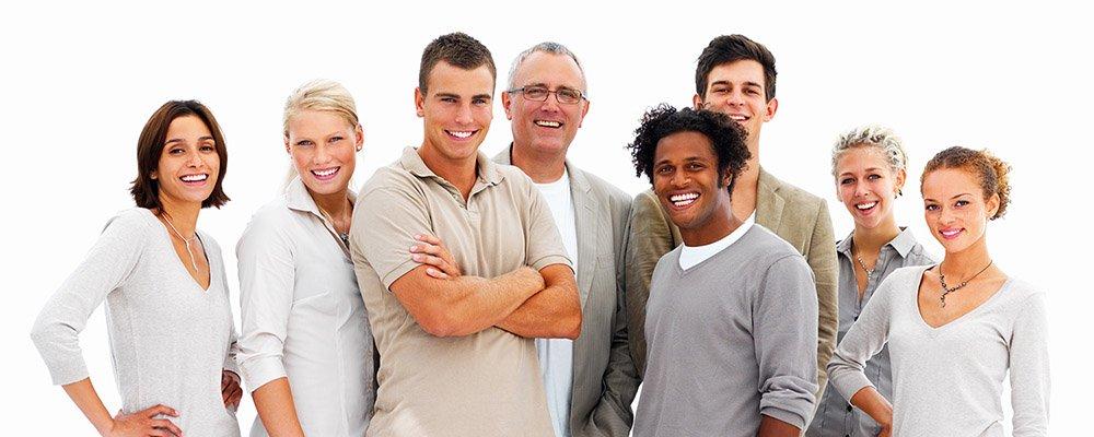 soporte grupo de personas